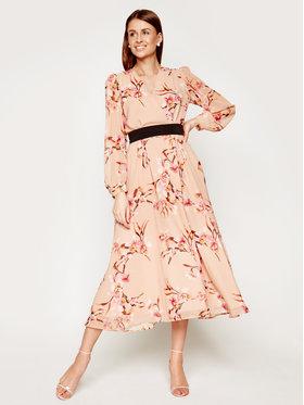 Marella Marella Robe de soirée Cutter 32214001 Beige Regular Fit