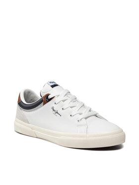 Pepe Jeans Pepe Jeans Sneakersy Kenton Class PMS30764 Biela