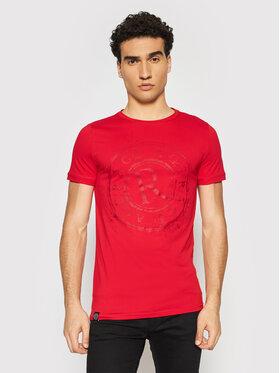 Rage Age Rage Age T-Shirt Marshall Czerwony Slim Fit