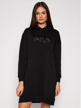 Fila Fila Robe en tricot Teofila 687933 Noir Oversize