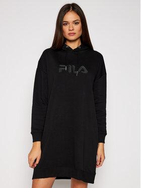 Fila Fila Úpletové šaty Teofila 687933 Čierna Oversize