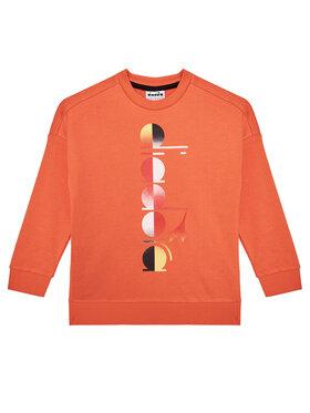 Diadora Diadora Sweatshirt Jb. Sweatshirt Crew Diadora Club 102.177125 Orange Comfort Fit