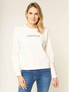 Calvin Klein Jeans Calvin Klein Jeans Μπλούζα Institutional J20J212873 Μπεζ Regular Fit