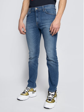 Lee Lee Jeansy Slim Fit Rider L701ROEM Modrá Slim Fit