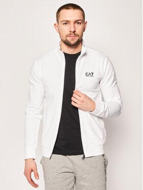EA7 Emporio Armani EA7 Emporio Armani Sweatshirt 8NPM01 PJ05Z 1100 Weiß Regular Fit