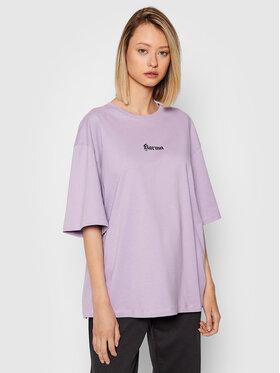 NA-KD NA-KD T-shirt Karma Printed 1100-004261-0208-003 Viola Regular Fit