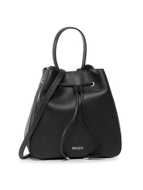 Hugo Hugo Дамска чанта Victoria Drawstr-P 50428517 10224014 01 Черен