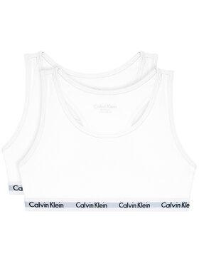 Calvin Klein Underwear Calvin Klein Underwear Komplektas: 2 liemenėlės G80G800437 Balta
