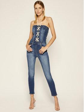 Elisabetta Franchi Elisabetta Franchi Ολόσωμη φόρμα TJ-12S-01E2-V399 Σκούρο μπλε Skinny Fit