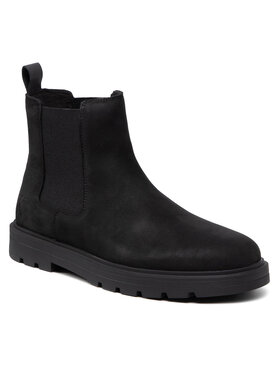 Calvin Klein Jeans Calvin Klein Jeans Sztyblety Ess Mid Chelsea Boot YM0YM00273 Czarny
