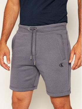 Calvin Klein Jeans Calvin Klein Jeans Спортни шорти Fleece Jogger J30J314675 Сив Regular Fit