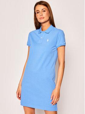 Polo Ralph Lauren Polo Ralph Lauren Sukienka codzienna 211799490 Niebieski Regular Fit