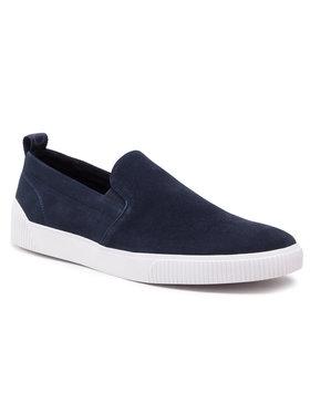 Hugo Hugo Sneakers aus Stoff Zero 50454947 10214592 01 Dunkelblau
