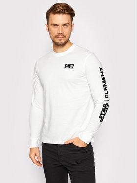 Element Element Тениска с дълъг ръкав STAR WARS™ Warrior U1LSF3 Бял Regular Fit