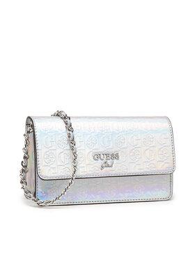 Guess Guess Дамска чанта HGLEX1 PU213 Сребрист