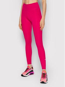 Nike Nike Leggings Dri-FIT One DD0252 Rosa Tight Fit