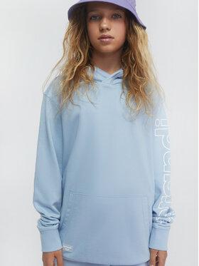 Sprandi Sprandi Majica dugih rukava SS21-BLG001 Plava Regular Fit