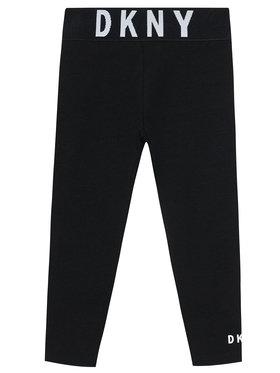 DKNY DKNY Legginsy D34A09 S Czarny Slim Fit