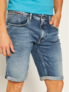 Tommy Jeans Tommy Jeans Дънкови шорти Ronnie DM0DM08288 Син Relaxed Fit