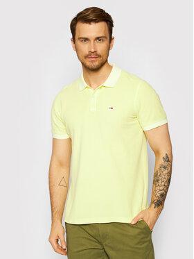 Tommy Jeans Tommy Jeans Polo Garment Dye DM0DM10586 Πράσινο Regular Fit