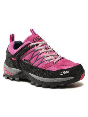 CMP CMP Trekkingi Rigel Low Wmn Trekking Shoes Wp 3Q54456 Różowy