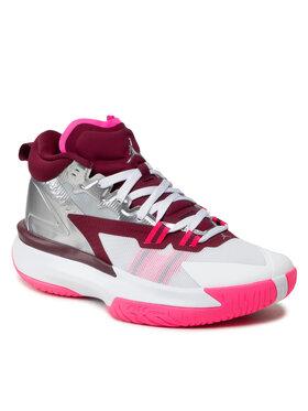 Nike Nike Buty Jordan Zion 1 DA3130 100 Srebrny