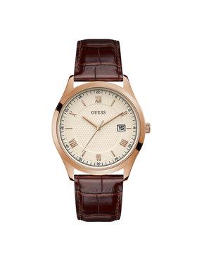 Guess Guess Ρολόι Element GW0065G1 Καφέ