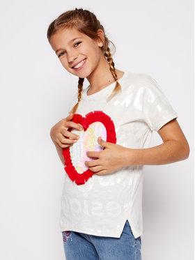 Desigual Desigual Marškinėliai Northampton 20SGTK28 Balta Regular Fit