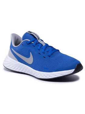 Nike Nike Boty Revolution 5 (GS) BQ5671 403 Modrá