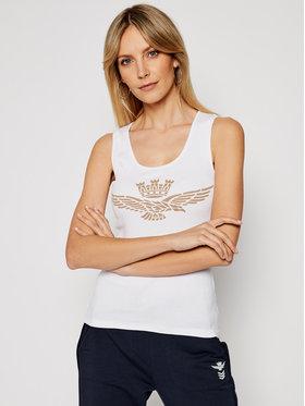 Aeronautica Militare Aeronautica Militare Marškinėliai 211TS1875DJ214 Balta Slim Fit