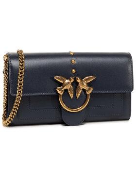 Pinko Pinko Handtasche Love Wallet Simply 2 C AI 20-21 PLTT 1P21SF Y6JC Dunkelblau
