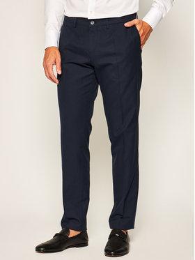 Boss Boss Spodnie materiałowe Wylson-W 50427189 Granatowy Slim Fit