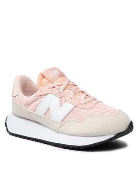 New Balance New Balance Sneakersy GS237SS1 Różowy