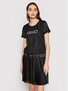 Liu Jo Sport Liu Jo Sport Každodenní šaty TA1111 J6154 Černá Regular Fit