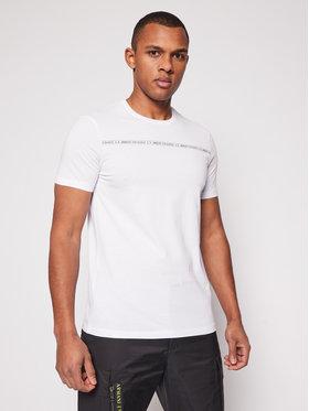 Armani Exchange Armani Exchange Marškinėliai 8NZT93 Z8H4Z 1100 Balta Regular Fit