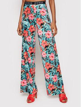 Guess Guess Pantaloni din material E1GB00 K4JZ0 Colorat Regular Fit
