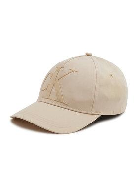 Calvin Klein Calvin Klein Șapcă Deboss K60K608276 Bej