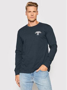 Billabong Billabong Тениска с дълъг ръкав BUDWEISER Insignia Z1LS08 Тъмносин Premium Fit