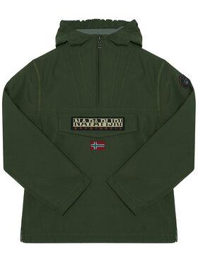 Napapijri Napapijri Átmeneti kabát Rainforest NP0A4EPL S Zöld Regular Fit