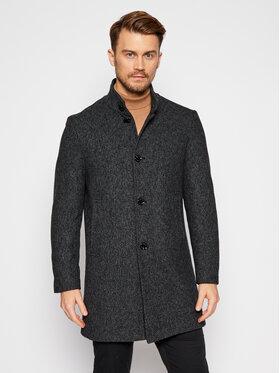 Pierre Cardin Pierre Cardin Gyapjú kabát 71790/000/3932 Fekete Regular Fit