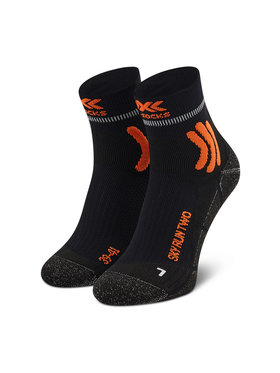 X-Socks X-Socks Calzini lunghi da uomo Sky Run Two XSRS14S19U Nero