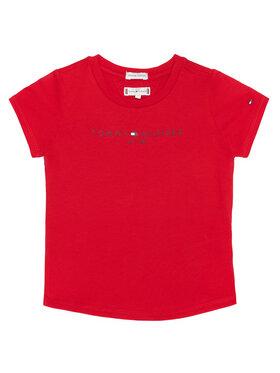 TOMMY HILFIGER TOMMY HILFIGER T-Shirt Essential Tee KG0KG05512 M Κόκκινο Regular Fit