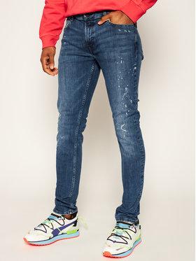 KARL LAGERFELD Slim fit džínsy 5-Pocket 265801 501832 Tmavomodrá Slim Fit