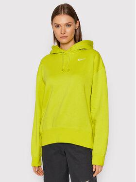 Nike Nike Mikina Sportswear CZ2590 Zelená Oversize
