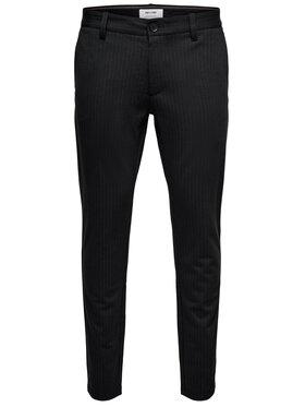 Only & Sons ONLY & SONS Kalhoty z materiálu Mark 22013727 Černá Slim Fit