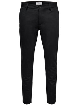Only & Sons ONLY & SONS Текстилни панталони Mark 22013727 Черен Slim Fit