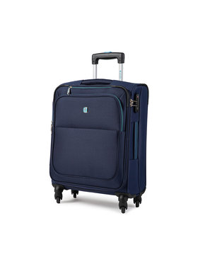Dielle Dielle Kis szövetborítású bőrönd 720/55 Sötétkék