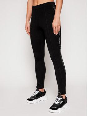 Calvin Klein Jeans Calvin Klein Jeans Colanți J20J215125 Negru Slim Fit