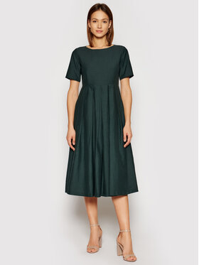 Weekend Max Mara Weekend Max Mara Rochie de zi Edere 52211511 Verde Regular Fit
