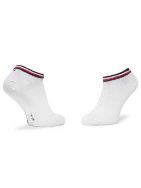 TOMMY HILFIGER TOMMY HILFIGER Sada 2 párů nízkých ponožek unisex 320204001 Bílá